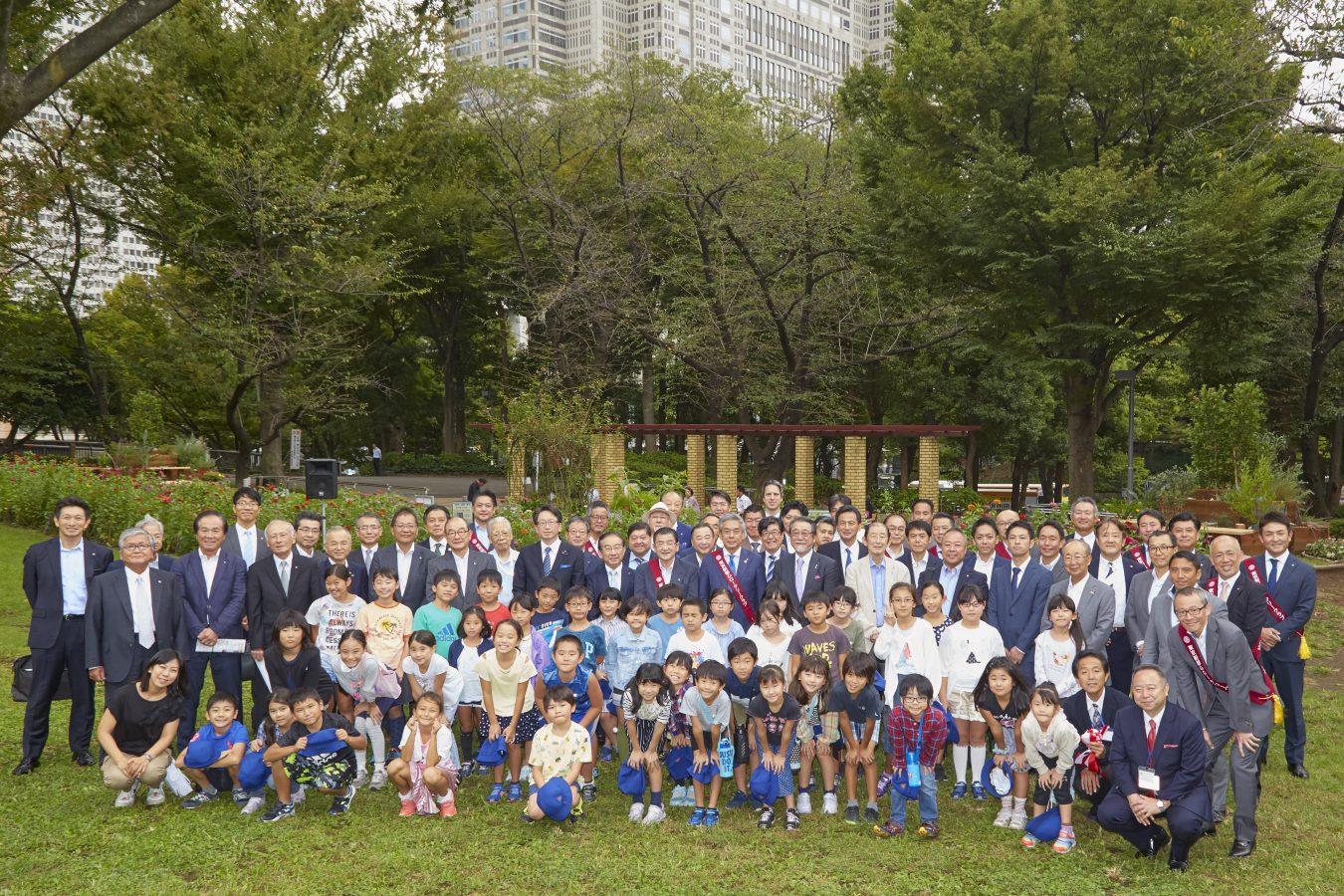 30周年記念事業 SMILE&DREAM Garden 寄贈式
